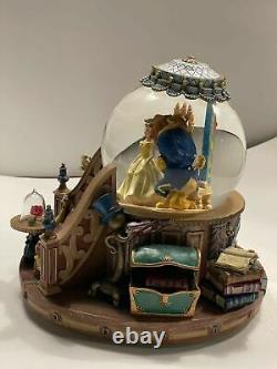 1991 Disney Beauty and The Beast Musical Snow Globe