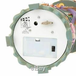 Alice in Wonderland Disney Snow Globe 25th Anniversary Music Box Snow Dome