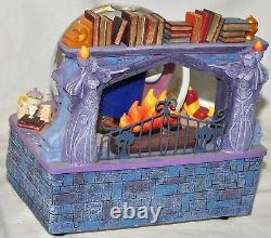 Beauty and the Beast Belle Reading to Beast Disney Musical Snowglobe Library 91