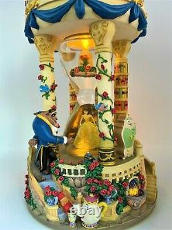 Beauty and the Beast Hourglass Globe With Lights & Music 1992