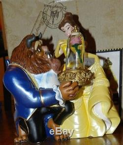 Beauty and the Beast Musical Snow Globe Disney Parks New