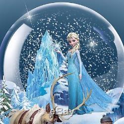 Bradford Exchange Collectable Disney FROZEN Illuminated Musical Snow globe
