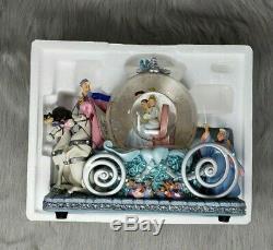 Cinderella Musical Snow Globe Carriage Disney 50th Anniversary Prince Charming