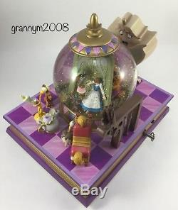 Disney Beauty And The Beast Musical Snow Globe Something There Song