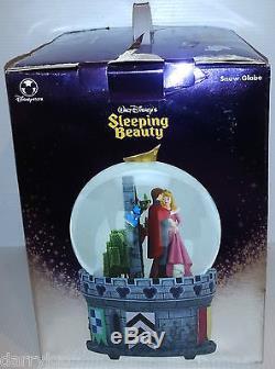 DISNEY STORE SLEEPING BEAUTY MUSICAL SNOWGLOBE -Walt Disney's NEW(SEE LISTING)