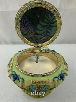 DISNEY TINKER BELL Peter Pan Neverland Music Box You can Fly 1951