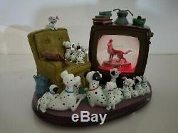 Disney 101 Dalmatians Snow Globe Playful Melody Musical Snowglobe #95976