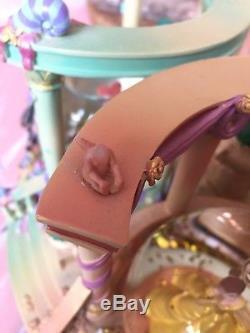 Disney 4 Seasons Musical Snowglobe Ariel, Belle, Sleeping Beauty, Cinderella