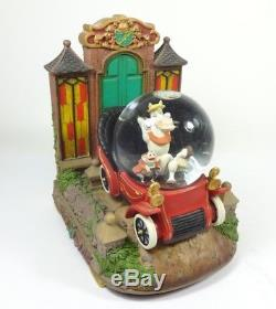 Disney Adventures Of Ichabod And Mr Toad Anniversary Musical Snow Globe Rare