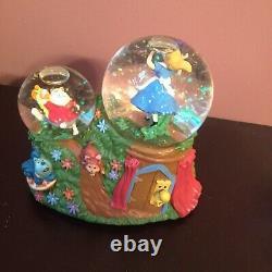 Disney Alice In Wonderland Snow Globe With Music