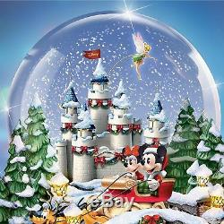 Disney An Old Fashioned Christmas Musical Snowglobe with Lights & Snow Bradford