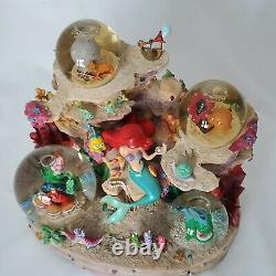 Disney Ariel Little Mermaid Under The Sea Musical Snowglobe Multi Globes