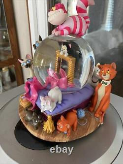 Disney Aristocats Cats RARE Musical Snowglobe Globe