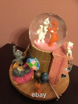 Disney Aristocats Musical Snow Globe Limited Edition