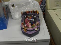 Disney Beauty And The Beast Bookshelf Musical Snow Globe, Belle reads to Beast