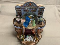 Disney Beauty And The Beast Snow Globe Music Box 1991