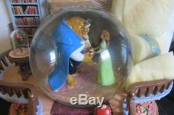 Disney Beauty & The Beast Library Music Snowglobe Globe Blower Babette NEED GLUE