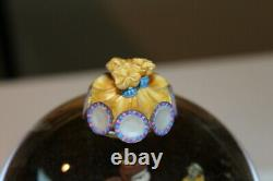 Disney Beauty and the Beast Musical Snowglobe 1991 Plays Be Our Guest