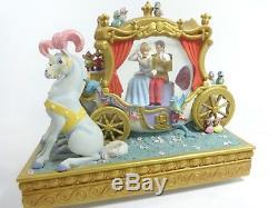 Disney CINDERELLA Snow Globe Music Box (Dream is a Wish your Heart Makes) RARE