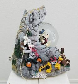 Disney California Adventure Musical Snowglobe Water Snow Globe Disneyland Rare