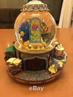 Disney Character Goods Beauty and the Beast Snow Globe Globe Music Box Dome