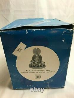 Disney Cinderella Double Snow Globe A Dream Is A Wish Your Heart Makes Music Box