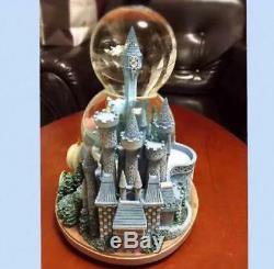 Disney Cinderella Double Snow Globe Music Box Very good condition Rare F/S