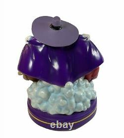 Disney DARKWING Duck Snowglobe Light Up Musical Plays Beethoven 5th RARE