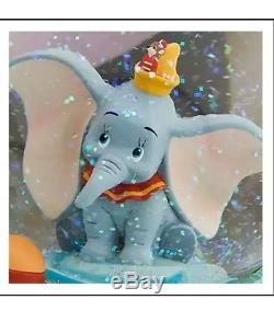 Disney Dumbo & Mama Jumbo Musical Water Glitter Snowglobe, Rock A Bye Baby