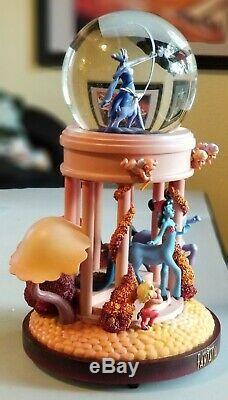 Disney Fantasia Light Up Musical Snowglobe Retired