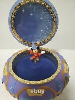 Disney Fantasia Sorcerer Mickey Music Box