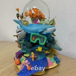 Disney Finding Nemo Snow Globe Pixar Music Box F/S From Japan