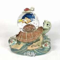 Disney Finding Nemo WithCrush Musical Rare Vntg Snow Globe Multi Figurines Tested