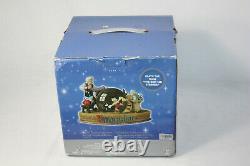 Disney Geppettots Workshop Pinocchio Musical Snowglobe Original Box Perfect Work