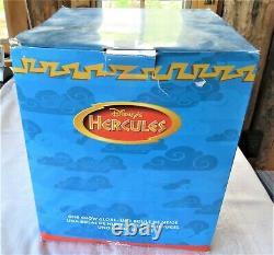 Disney Hercules Snow Globe Music Box I Won't Say with Box Rotating Base Works