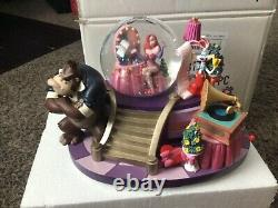 Disney, Jessica Dressing Room Roger Rabbit Snowglobe Music Box, Disney Store, New