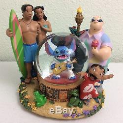 Disney Lilo & Stitch Elvis Musical Snowglobe Snow Globe