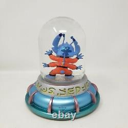 Disney Lilo & Stitch Musical Snow Globe Experiment 626 Pod WORKS