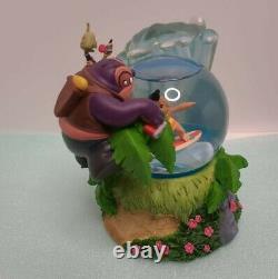 Disney Lilo Stitch Surfing Dr Jumba Pleakley Snow Globe Musical collectibleRare