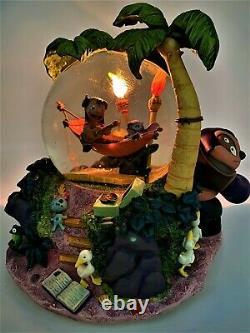 Disney Lilo and Stitch Aloha Musical Snow globe with lights