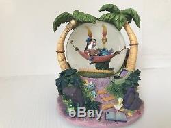 Disney Lilo and Stitch Hammock Snow Globe Music Box