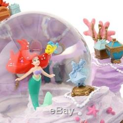 Disney Little Mermaid Ariel Snow Globe Music Box D23 Expo Japan 2018 limited