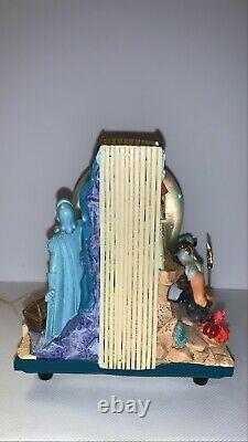 Disney Little Mermaid Book Double Sided Musical Under The Sea Snow Globe Rare