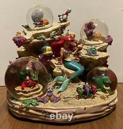 Disney Little Mermaid Under The Sea Musical Snow Globe