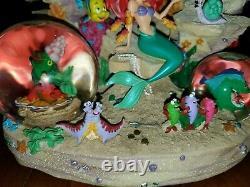 Disney Little Mermaid Under The Sea Musical Snowglobe Snow Globe