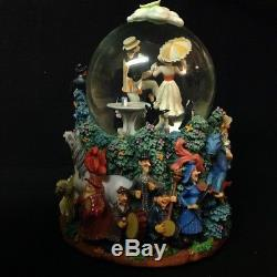 Disney Mary Poppins Let's Go Fly A Kite! Motion Fig Musical Snow Globe-MIOS