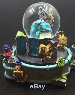 Disney Monsters Inc. Snowglobe Music Doesnt Play Read Listing In Entirety