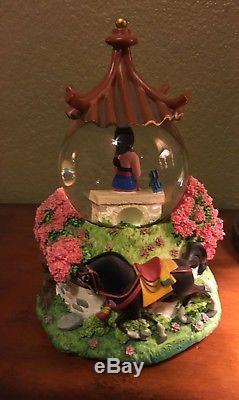 Disney Mulan Music Box and Snow Globe