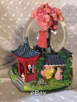 Disney Mulan Reflection Musical Snow Globe With Box