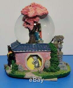 Disney Mulan Reflections Musical Snow Globe Rotating Figures W Tags Disney Store